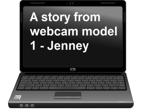A real story from webcam model 1 – Discovering online stripping