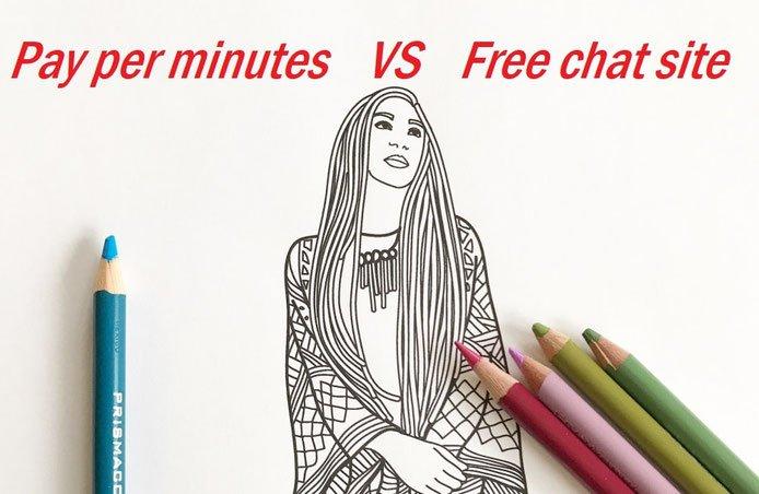 成人主播技巧: 以分鐘計費 vs 免費視訊聊天室