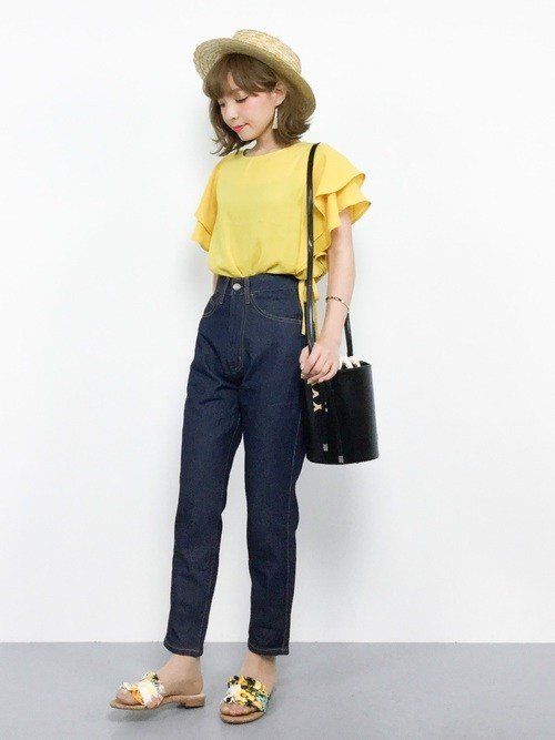 Japanese fashion trend 2018 yellow 1