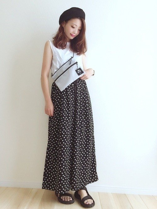 Japanese fashion trends polka dots