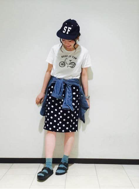Japanese fashion trends polka dots