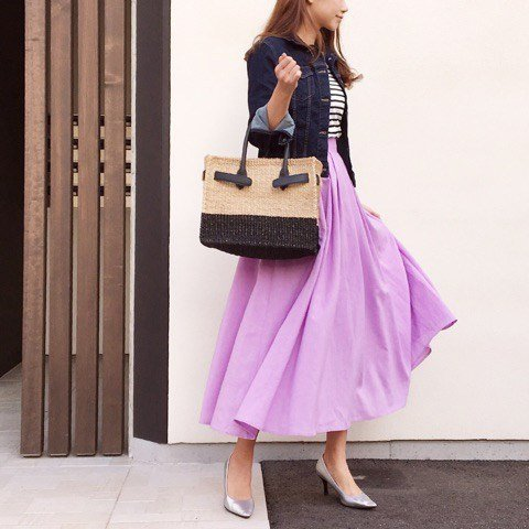 Japanese fashion trends purple 1