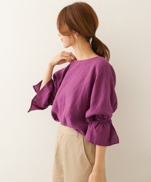 Japanese fashion trends purple shirt