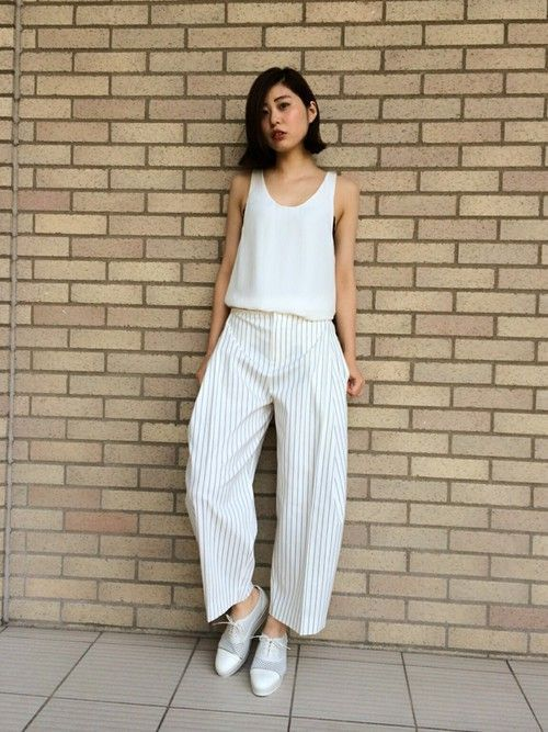 Japanese fashion trends white color 6