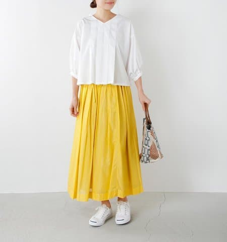 Japanese fashion trend 2018 yellow color