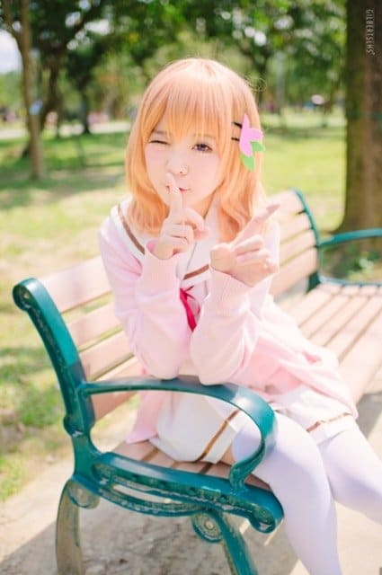 Kawaii cosplay gochiusa 4