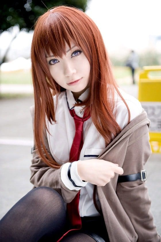 Kawaii cosplay steins gate kurisu