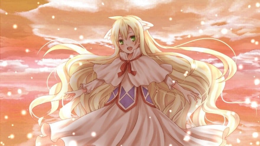 Kawaii Anime girls Mavis Vermilion