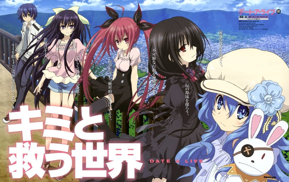 Kawaii Anime clothes Date A Live