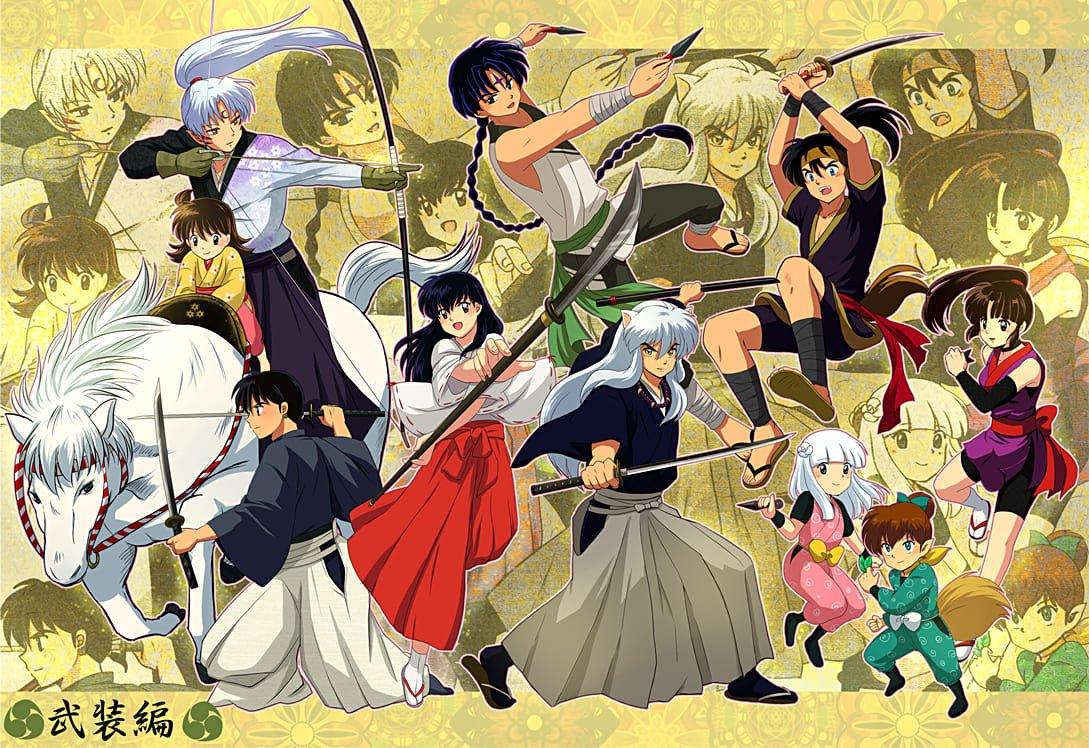 Inuyasha Kawaii anime boys