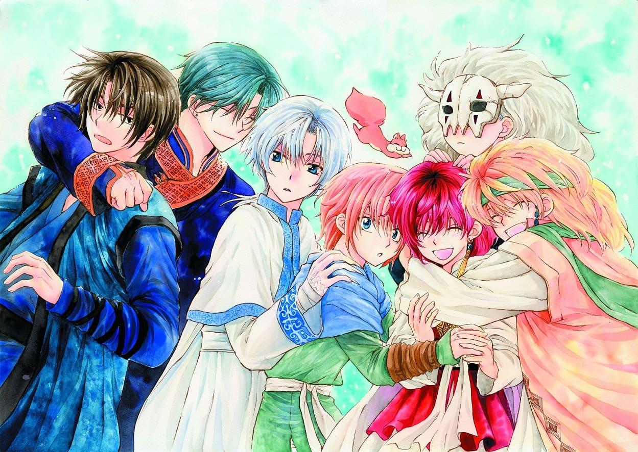 Kawaii Anime boys Zeno from Akatsukino yona