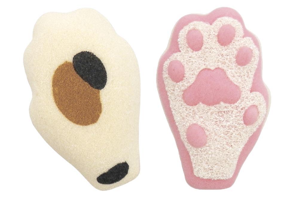 Kawaii cat stuff sponge