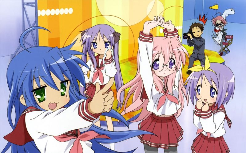Kawaii Anime Lucky Stars 2