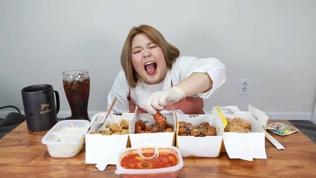 Korean cam site eating show
