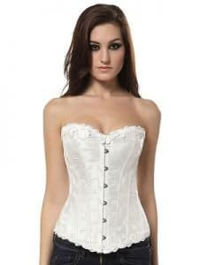 cam girl idea white corset