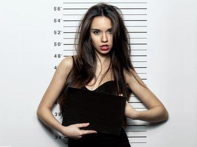 cam girl theme police station